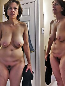 Naughty mature prostitute trying to tease